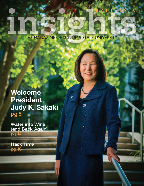 Cover photo for the Fall 2016 insights.