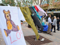 clothesline project in seawolf plaza
