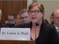 Laura Watt testifying before House Committee on Natural Resources