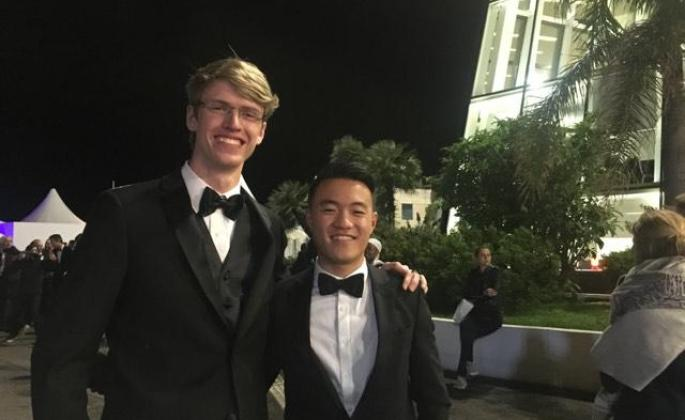 Ryan Harvey and Jason Gorelick at Cannes Film Festival