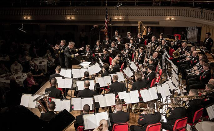 The United States Navy Band comes to the Green Music Center Feb. 21.