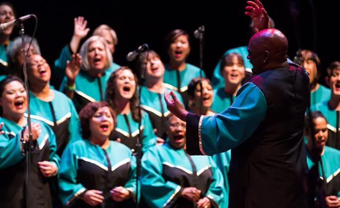 Oakland Interfaith Gospel Choir in concert