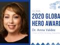 Dr. Anna Valdez, chair of the Sonoma State University's Nursing Department