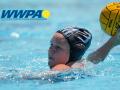 carleigh robinson throwing a water polo ball