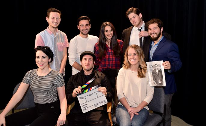 cannes student filmmakers group shot