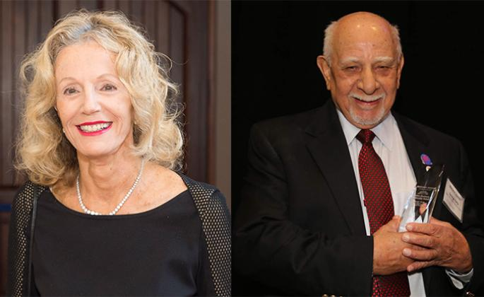 H. Andrea Neves and George L. Ortiz will receive honorary doctorates during SSU's commencement ceremony in May. // George L. Ortiz photo courtesy of the North Bay Bohemian